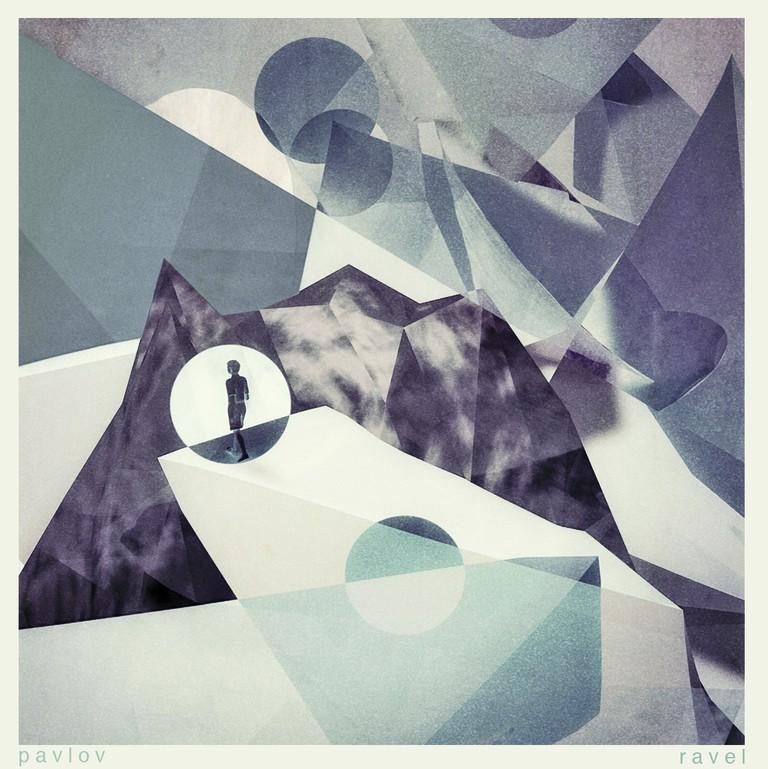 The album art for Pavlov's first EP, Ravel