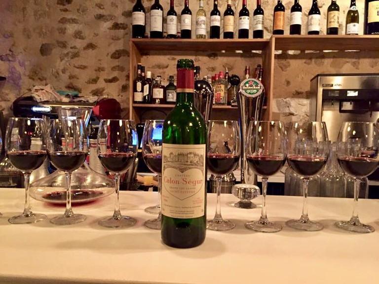 Late night drink at Le Millésime Bordeaux | © Le Millésime Bordeaux