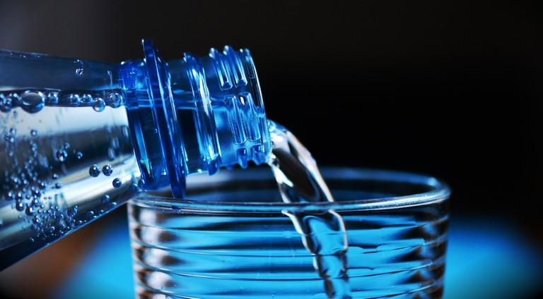 Drink plenty of water in Las Vegas, especially in the summer
