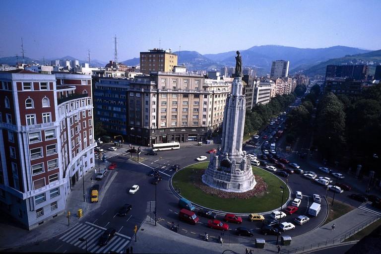 Plaza Bihotza, San Francisco, Bilbao