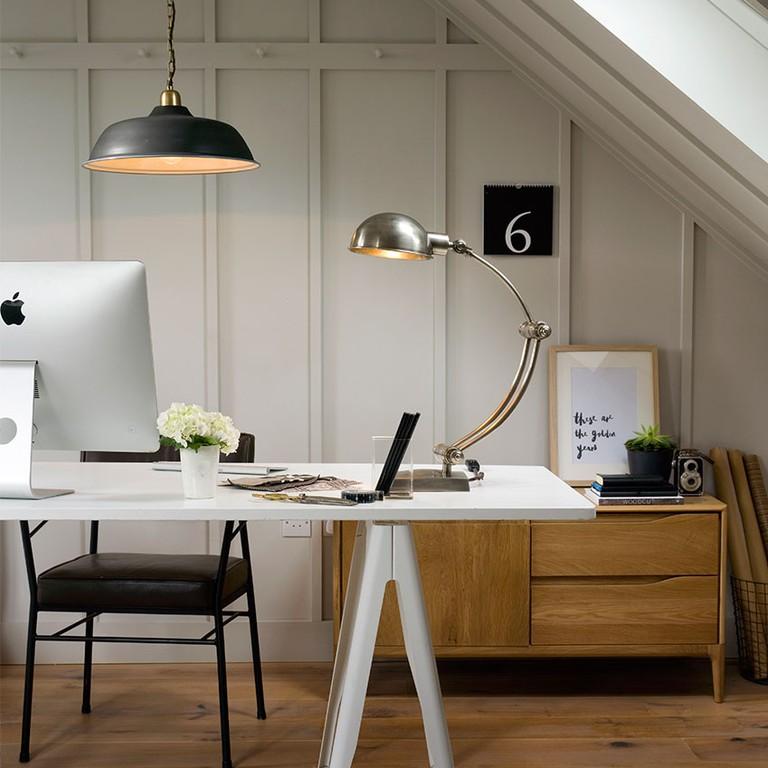 Descartes Desk Light, £130, Pooky.com