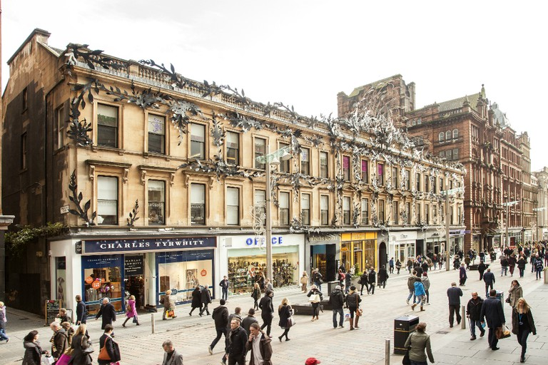Shopping Along Style Mile In Glasgow | Courtesy Of Glasgow Life