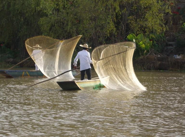 Pátzcuaro fishing