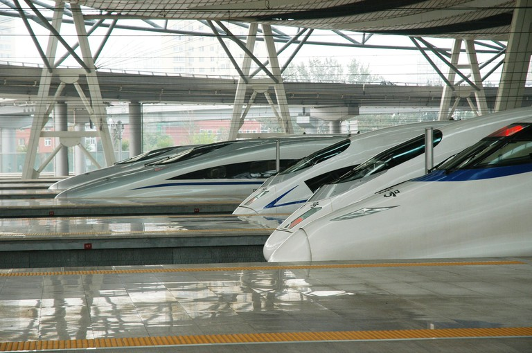 China's High-Speed Trains