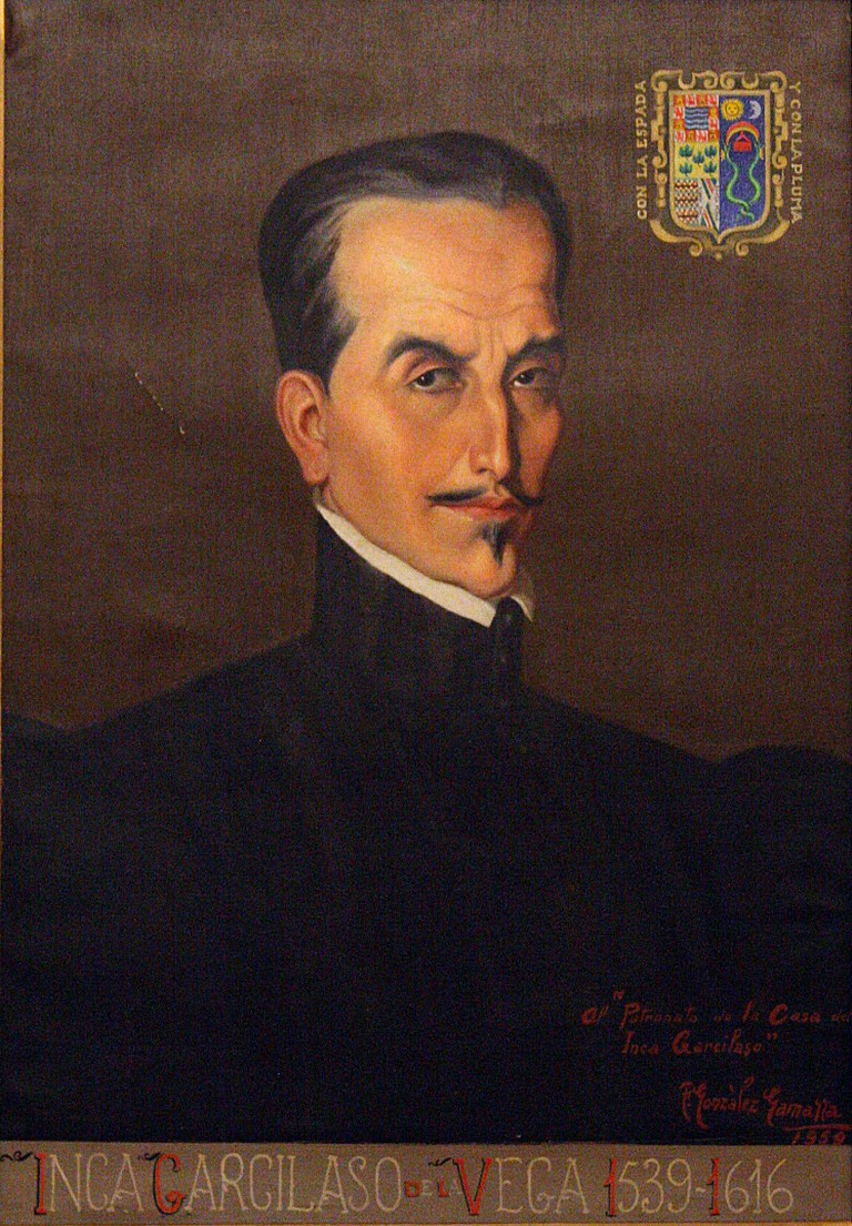 Portrait of Inca Garcilaso de la Vega I