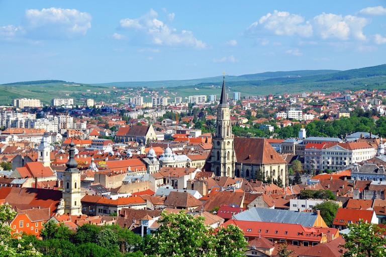 Cluj-Napoca cityscape