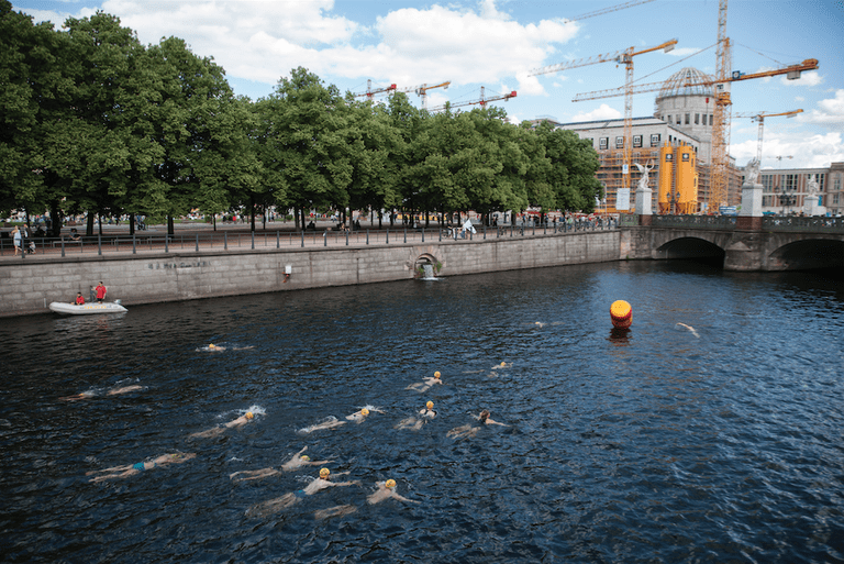 Swimming in the Spree