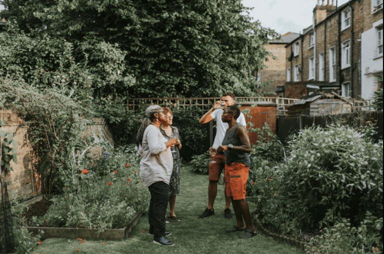 Clair's London garden