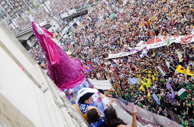 Semana Grande Festival Bilbao | ©Bilboko Konpartsak / Wikimedia Commons