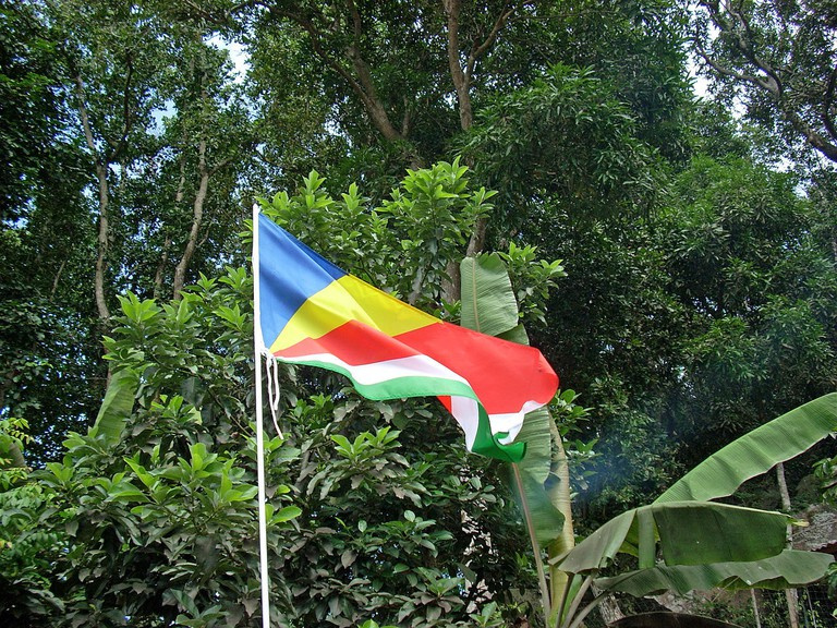 Fascinating things to know about Seychelles - the seychelles flag