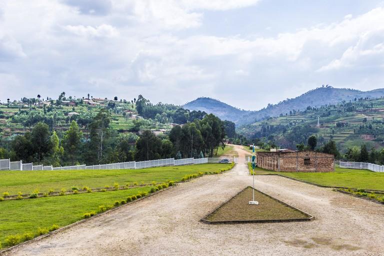 Mass graves in Butare, Rwanda