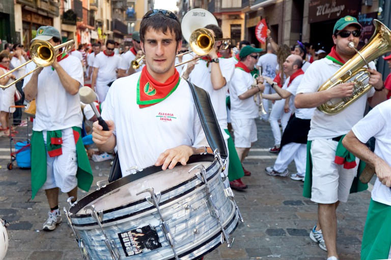Joining in the parades is a great way to experience San Fermin; Migel, shutterstock