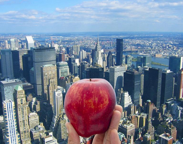 A big apple in The Big Apple