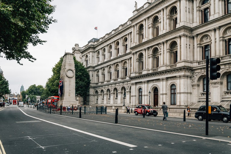 Whitehall, London, home to the Foreign and Commonwealth Office
