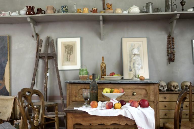 Visit Cézanne's workshop
