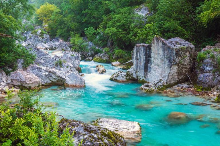 Soča River│
