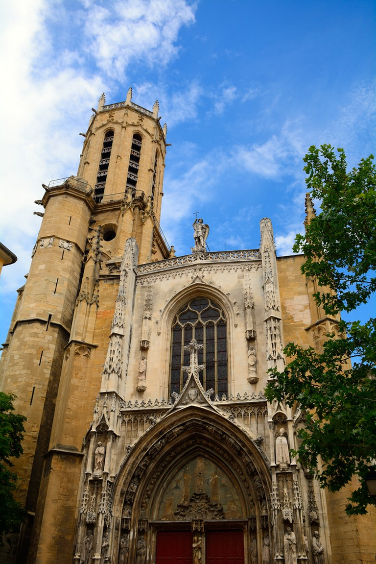 The Cathedral Saint Sauveur is where Cézanne's funeral was held