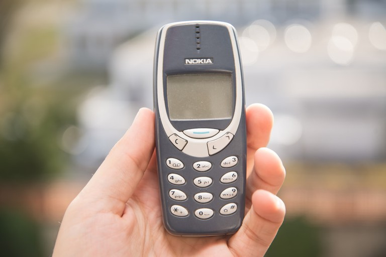 The classic Nokia 3310