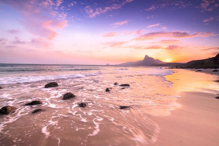 Bai nhat beach Condao island-Vietnam