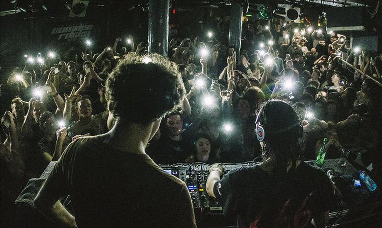 Skrillex v Four Tet at Underworld