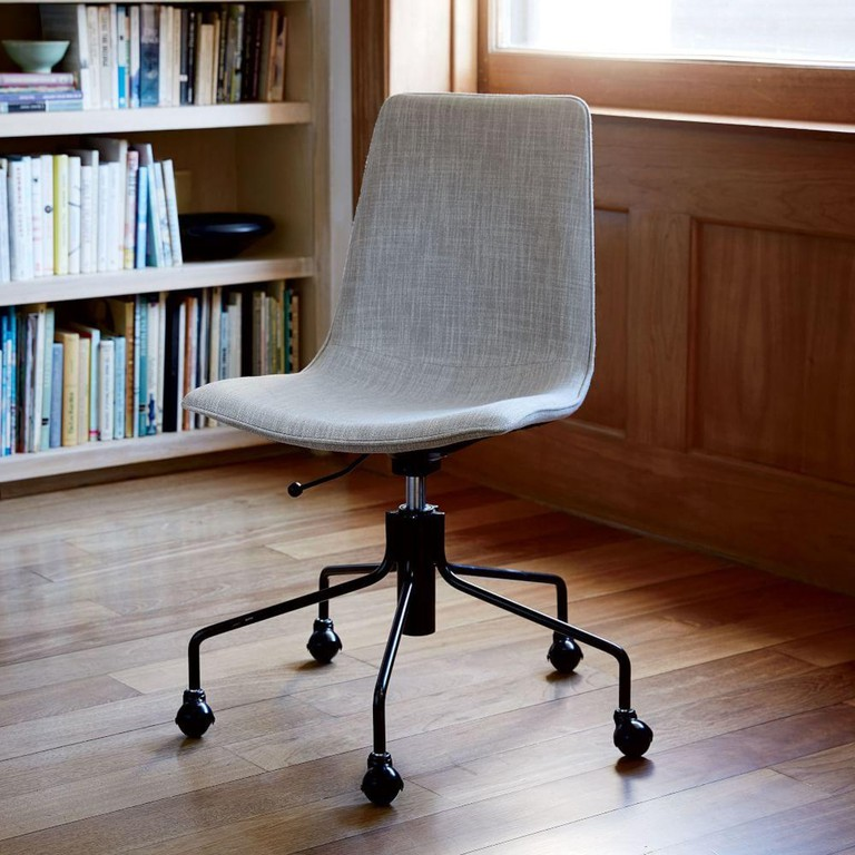 stunning west elm office chair | How to Create Your Dream Home Office