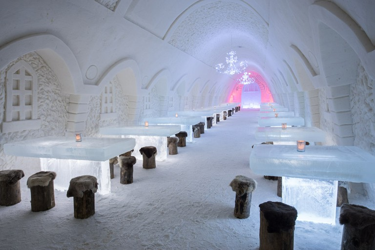 The Snow Restaurant from 2016