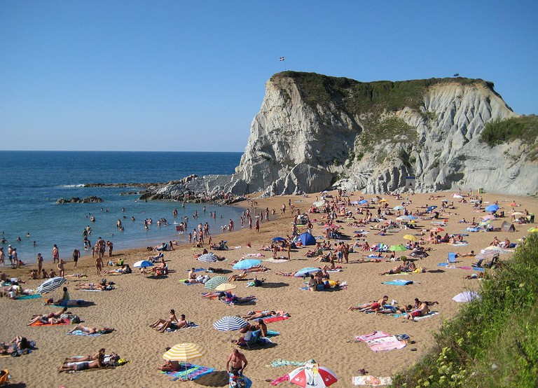 Sopelana Beach, Bilbao, Spain