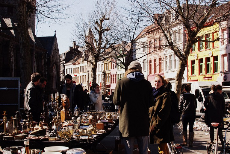 St Jacobs flea market