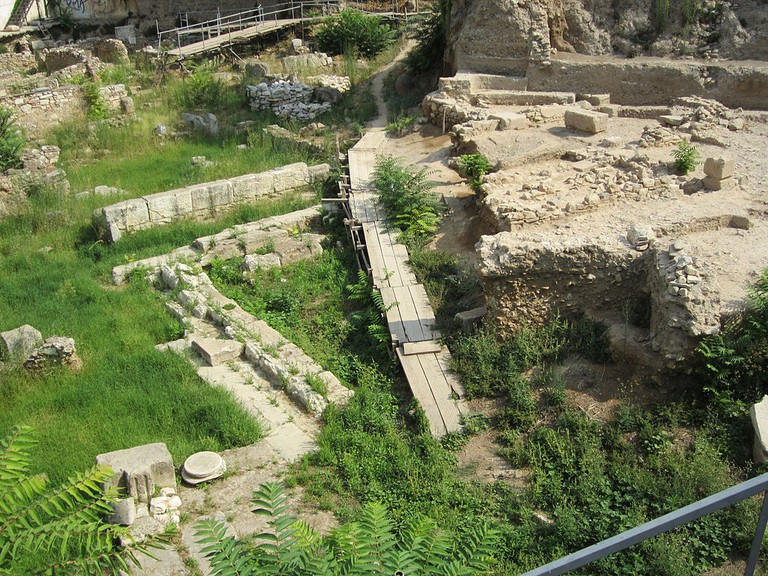 Archaeological site of Stoa Poikile, Ancient Agora of Athens