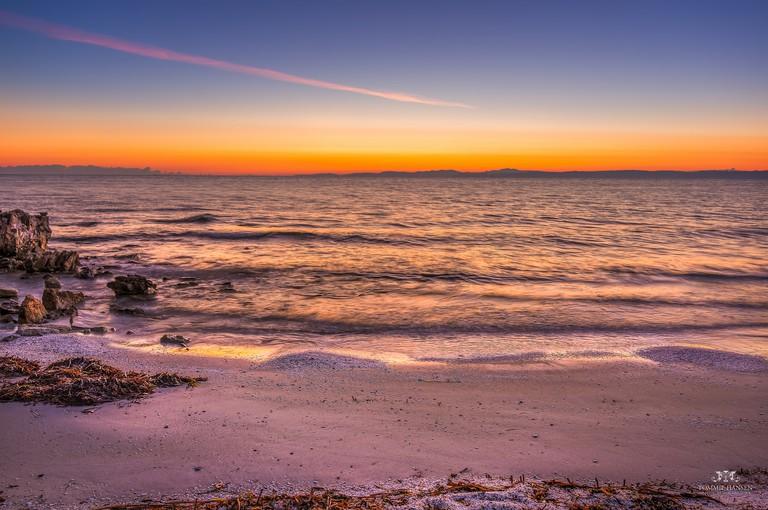 Sunrise at Spiaggia delle Saline Beach, Stintino (Sardinia, Italy)©Tommie Hansen:Flickr