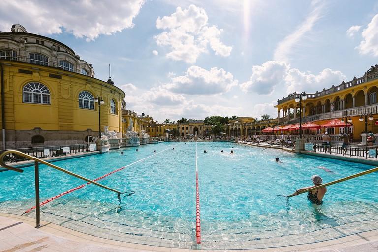 Szechenyi Thermal Baths in Budapest