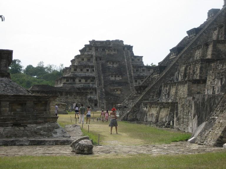 The pyramids of Tajin in Veracruz