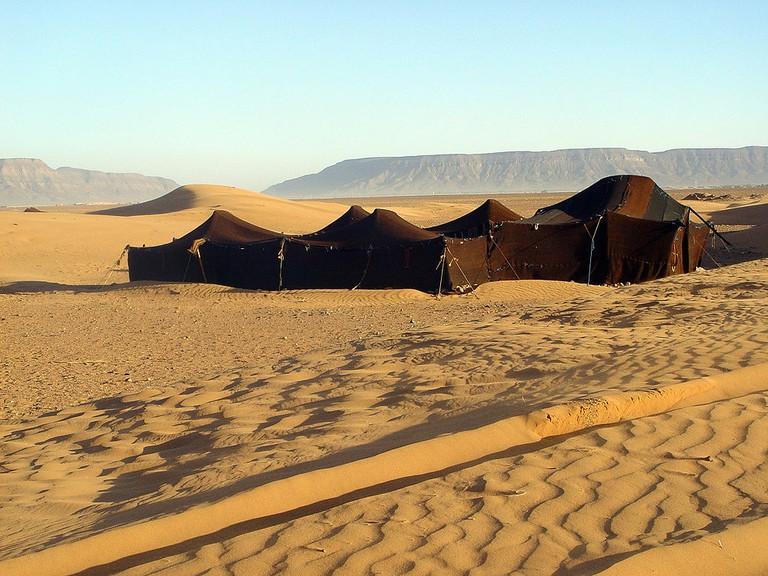 Berber tents