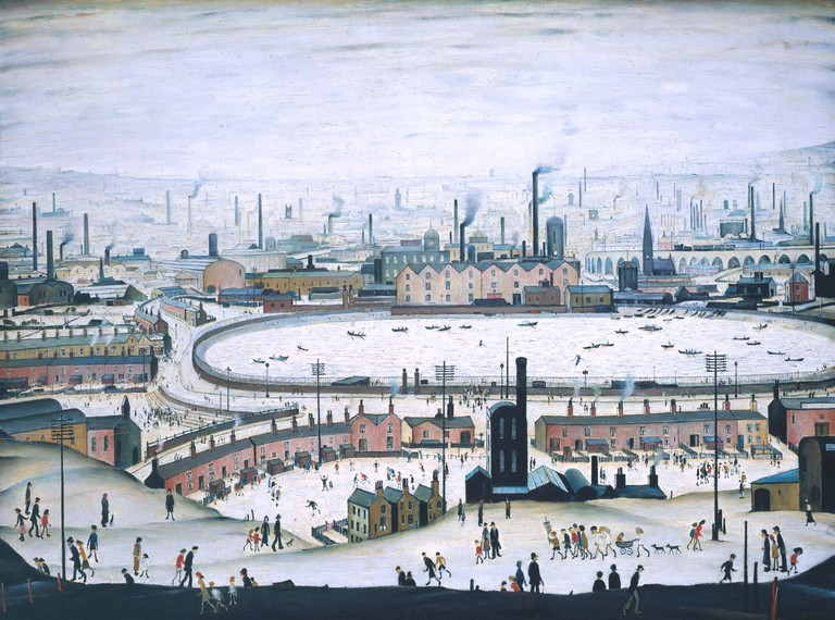 L S Lowry, The Pond, 1950 | Tate © The estate of LS Lowry