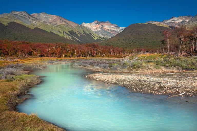 Tierra del Fuego National Park in Patagonia