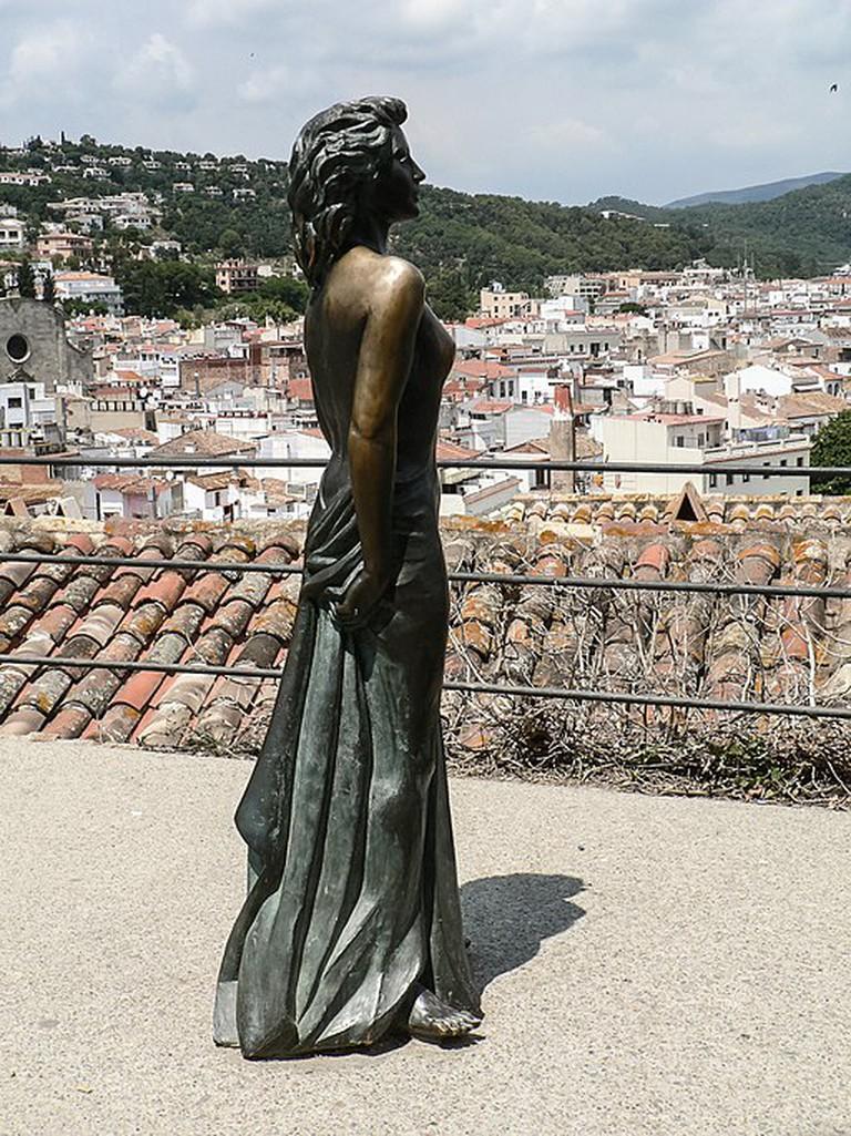 Ava Gardner in Tossa de Mar, Costa Brava, Spain | ©FRANCIS RAHER