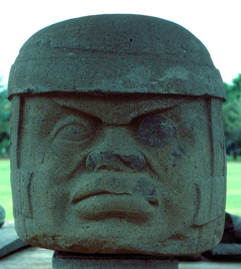 Tres Zapotes Colossal Head 1