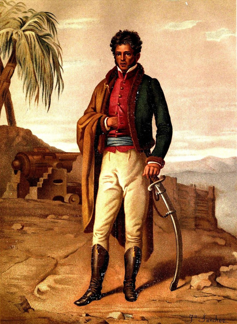 Vicente Guerrero, the first and (to date) only Afro Mexican president