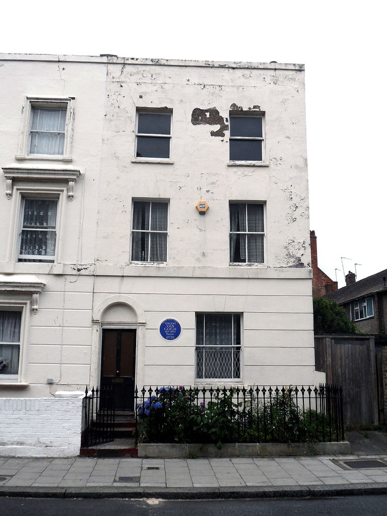 Vincent Van Gogh's former home in Lambeth