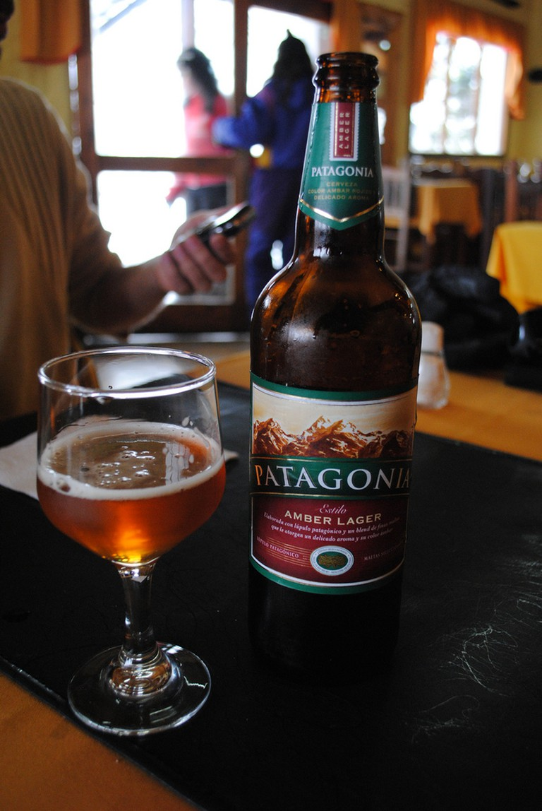 One of Patagonia's most popular beers, the Amber Lager