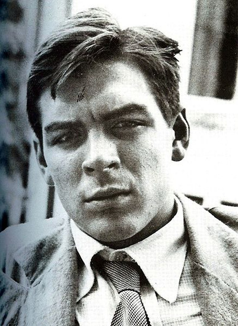 The 22-year-old Ernesto Guevara in 1951