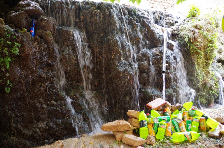Ifrane waterfall