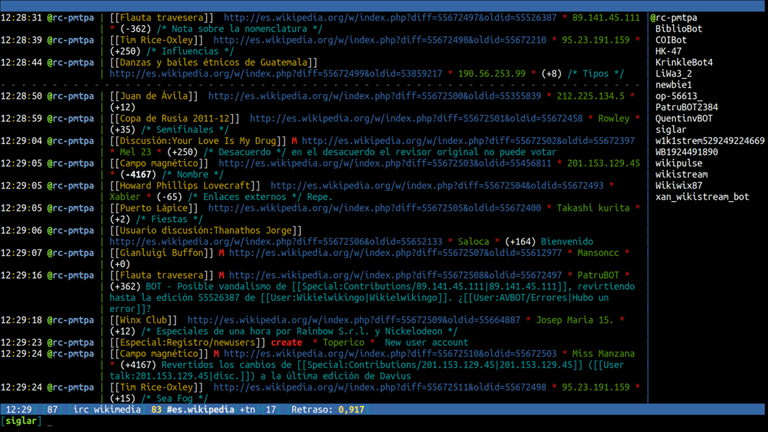 A version of IRC