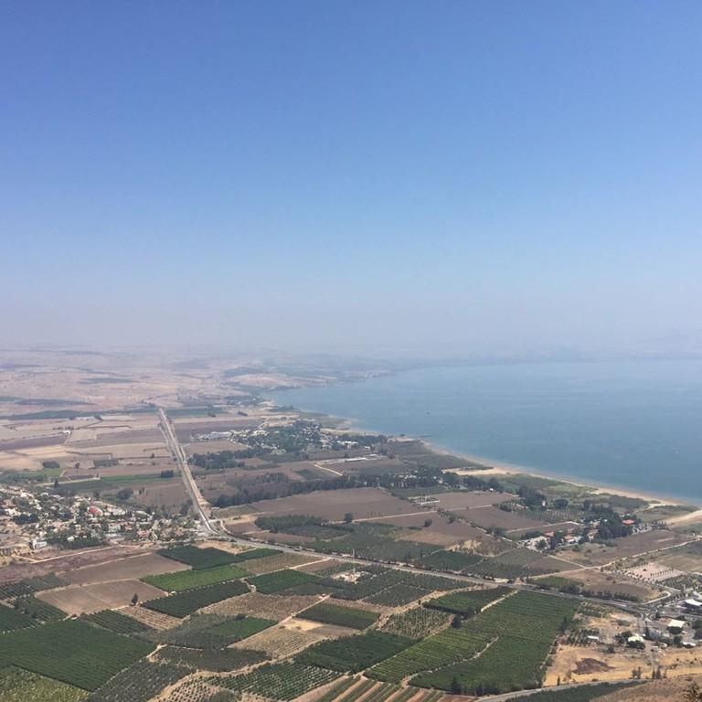 The Sea of Galilee/Kinneret. Photo: Becca Gomby