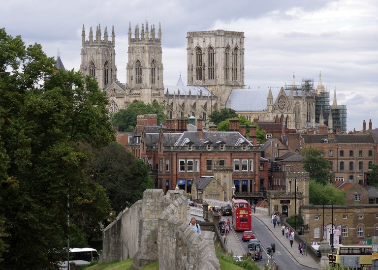 York and the city wall