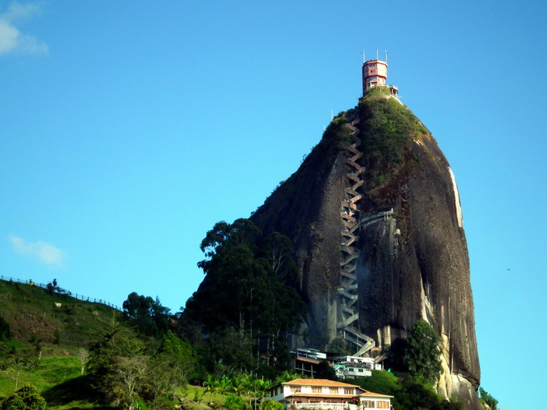 The mighty El Penol rock