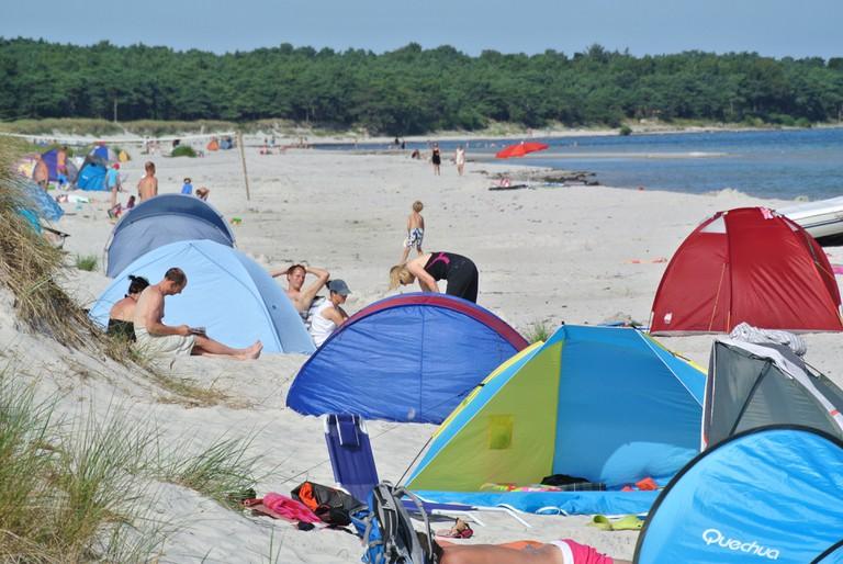 Bornholm-Denmark-Island-Baltic Sea-Camping