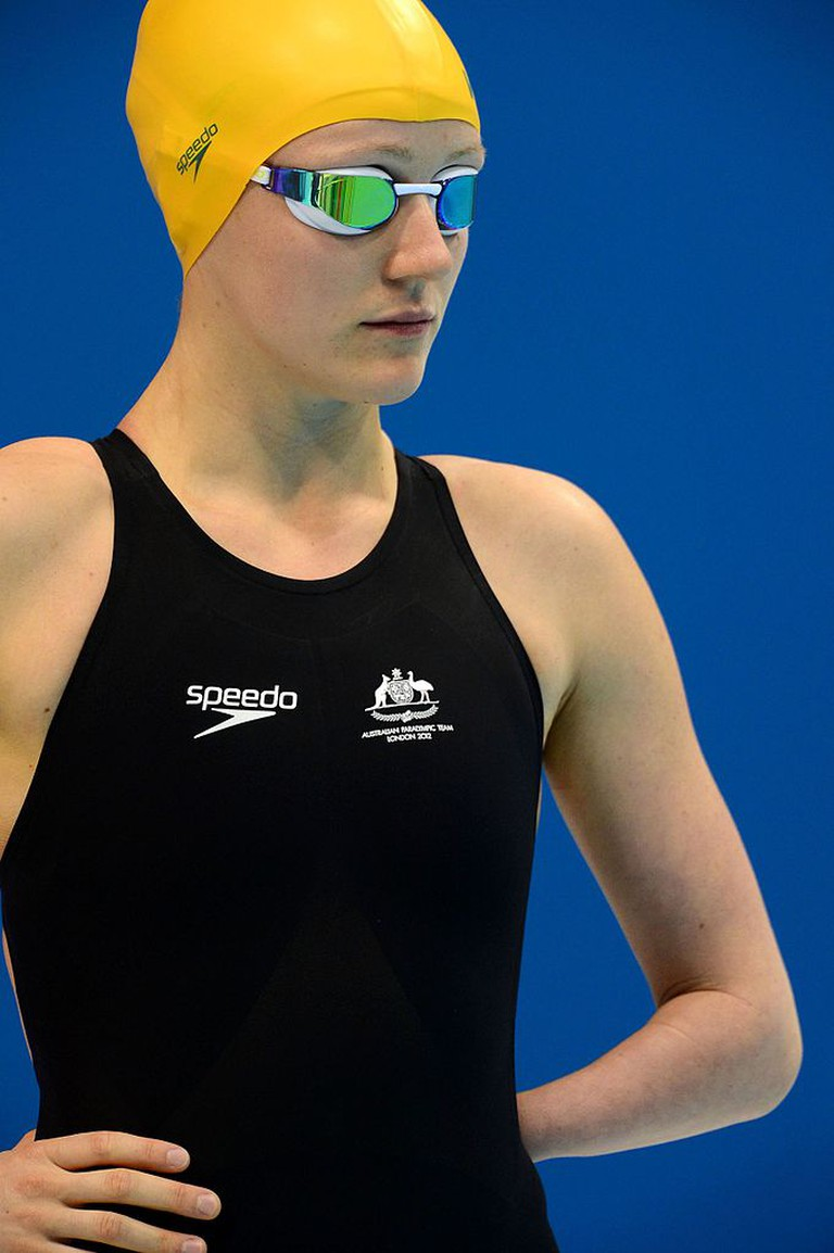 Photograph of Australian Paralympic team member Annabelle Williams at the 2012 Summer Paralympic Games in London