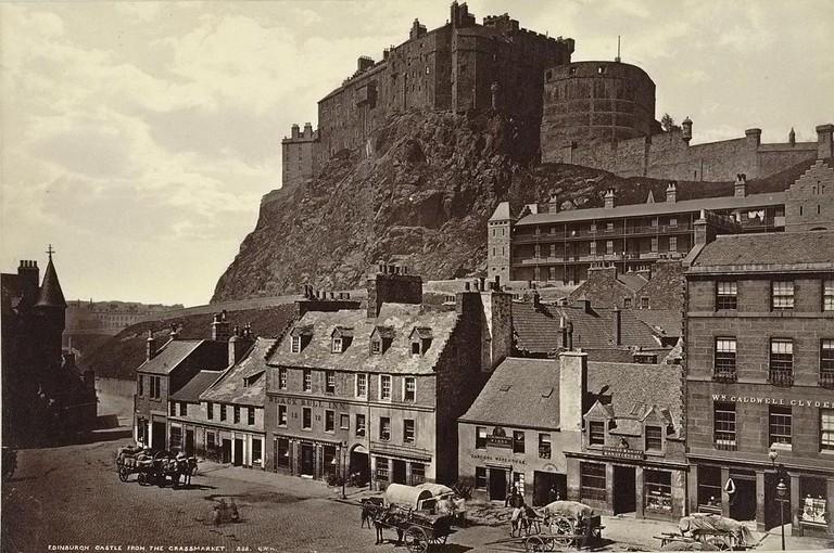 Grassmarket c.1865