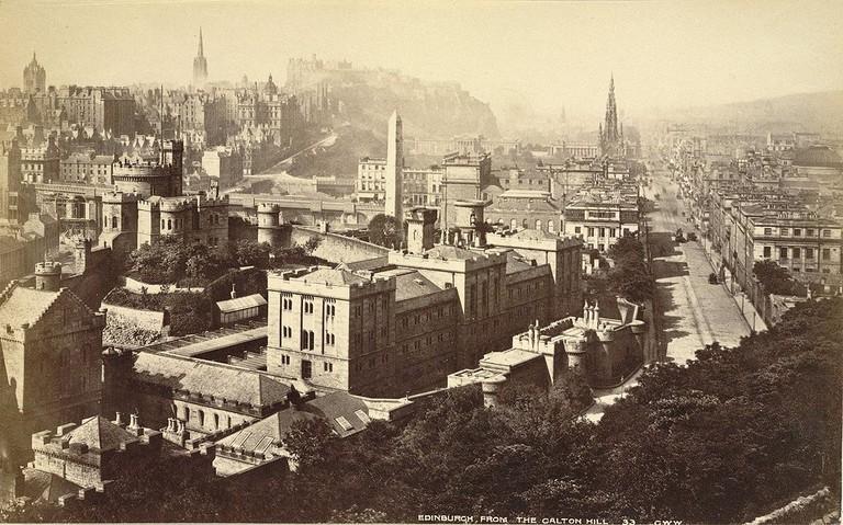 Edinburgh From Calton Hill c.1865